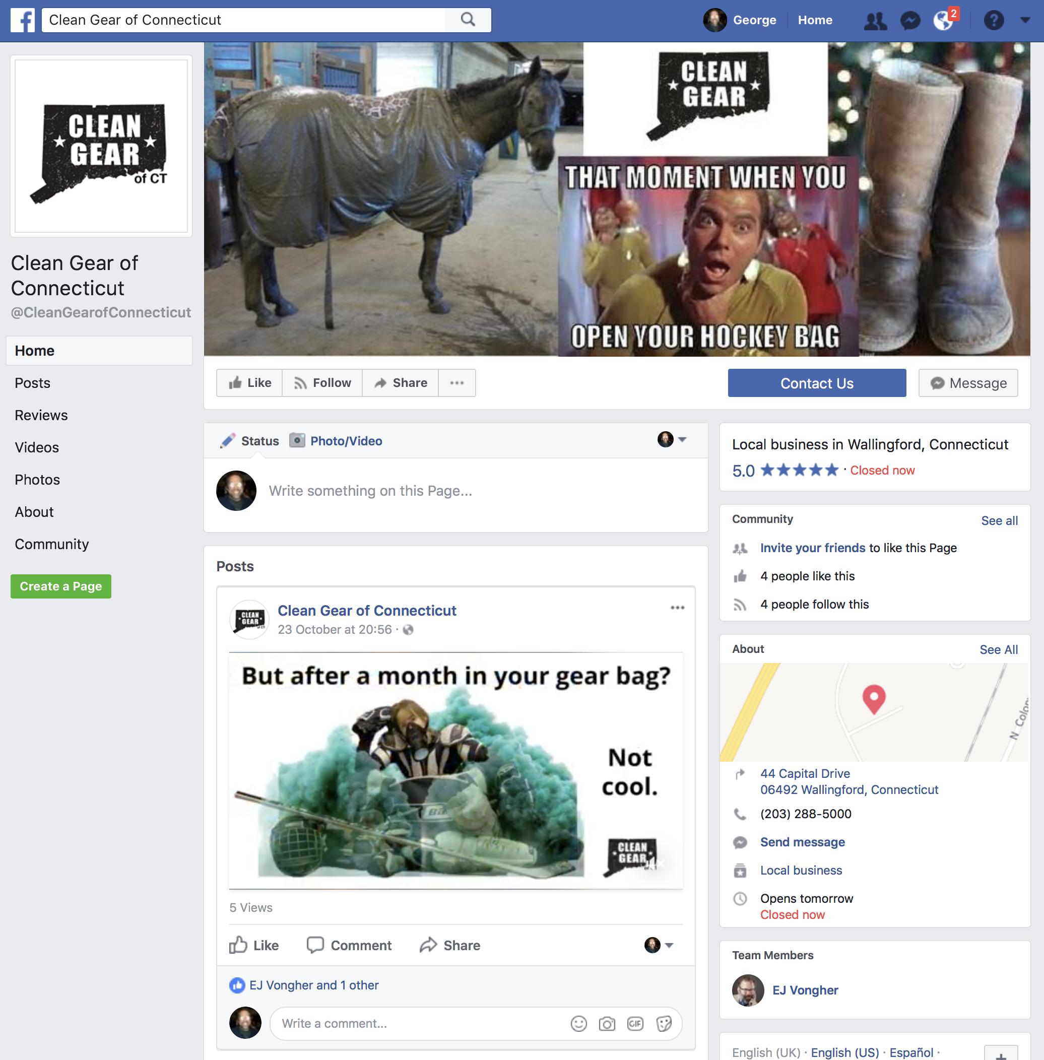 CG FB Page
